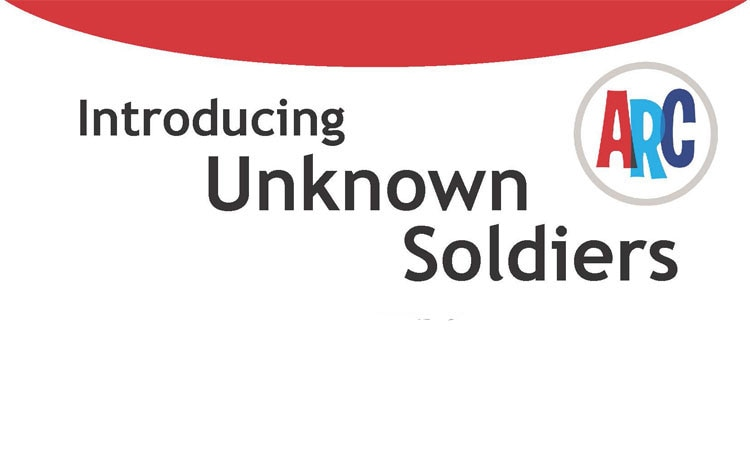 "Caption from the flyer ""Introducing 'Unknown Soldiers'"" (© State Dept.)"