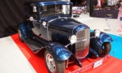 Ford Model A on display at the Lahti Jenkkiautonäyttely in 2016 (© State Dept.)