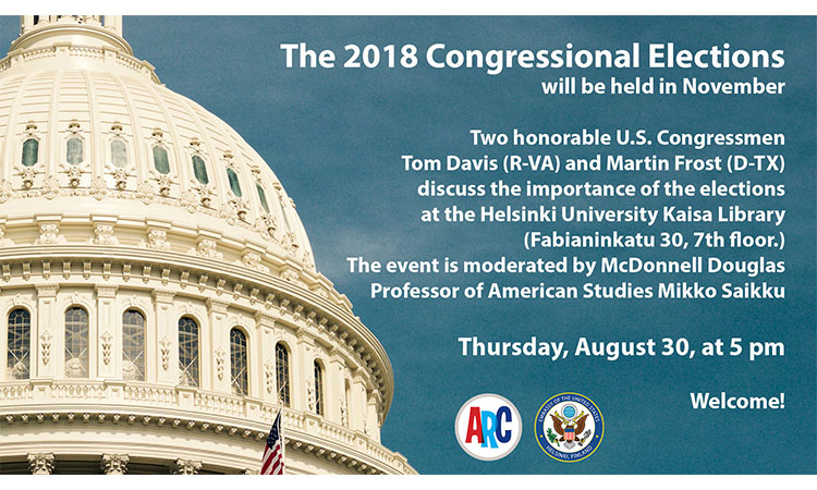2018 Congressional Elections event